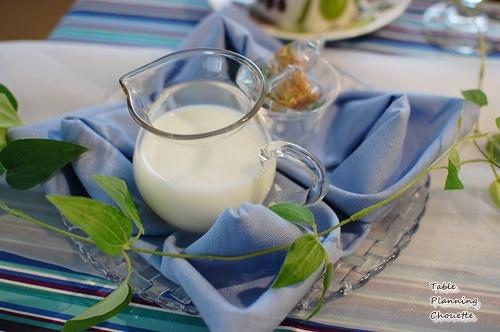 ミルクとお砂糖