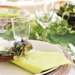 グリーンのテーブル