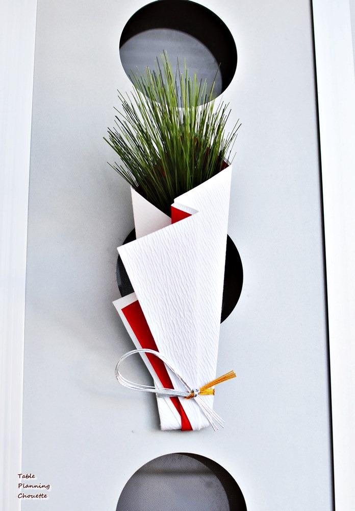 松飾りの代わり