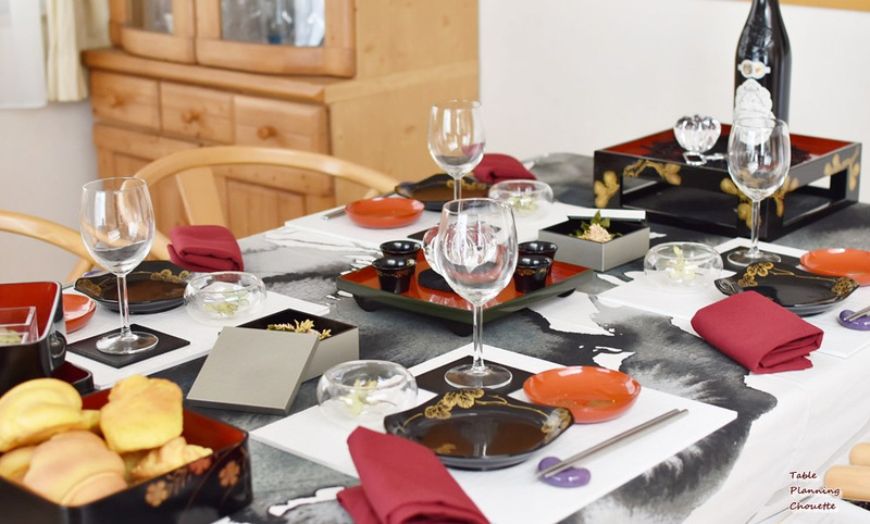 漆器で秋のテーブルコーディネート