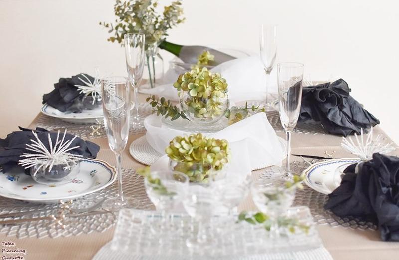 友達の結婚を祝う初秋のテーブル