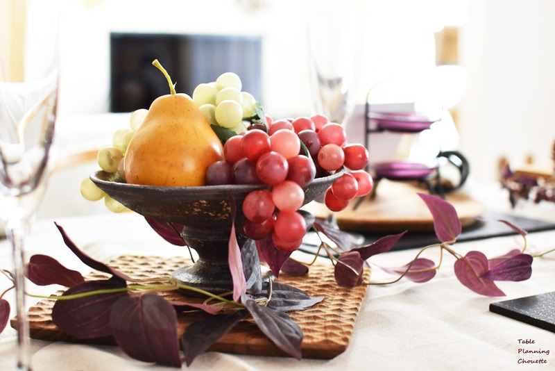 夏の終わりのテーブルコーディネート
